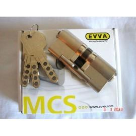 Bombín EVVA MCS Alta Seguridad Magnético 5 Llaves (Perfil Suizo para Ezcurra SEA 23) - Sin Pomo