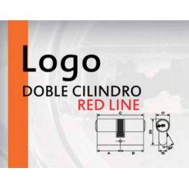 Cilindro MAUER LOGO RED LINE