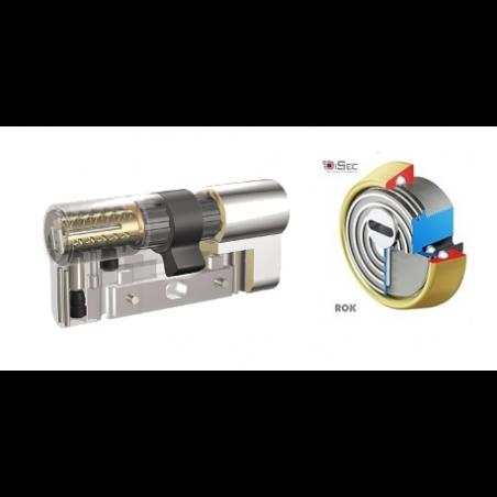 KIT Escudo Protector Disec BD280 Rok + Bombín KABA Expert Extreme Protection System - 5 llaves