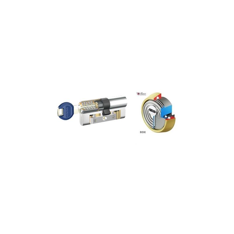 Kit Escudo Protector Disec BD280 Rok + Bombín KABA Expert con Refuerzo LAM - 5 Llaves
