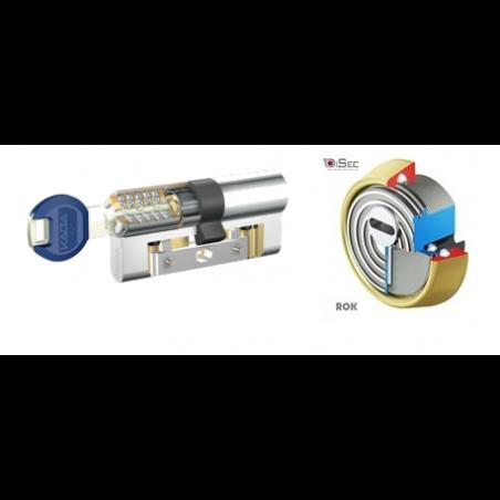Kit Escudo Protector Disec BD280 Rok + Bombín Antibumping KABA Expert Plus con Refuerzo LAM - 5 Llaves
