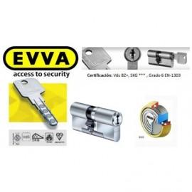 Kit Escudo Protector Disec BD280 Serie ROK + Bombín Antibumping EVVA MCS Magnético 5 Llaves