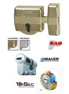 Cerrojo de seguridad Sag EP30  + Cilindro Mauer NW5