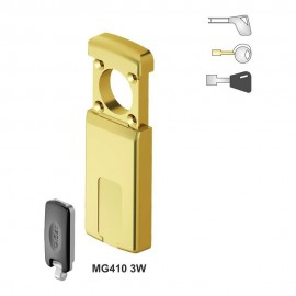 Escudo Protector Magnético DISEC MG410 (Perfil Redondo 55 mm)