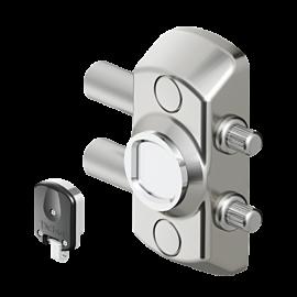 Cerradura Bloqueo Magnética DISEC MG710 (puertas enrollables de persiana)