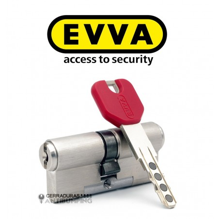 Bombín Antibumping EVVA MCS Alta Seguridad Magnético