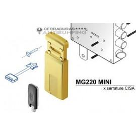 Escudo protector magnético DISEC cerradura gorja, MG220Mini