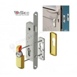 Escudo de alta seguridad estrecho DISEC Serie LG