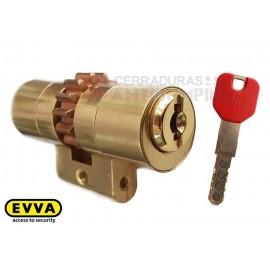 Bombín EVVA MCS Alta Seguridad Magnético 5 Llaves con Pomo (Perfil Suizo para Arcu)