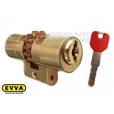 Bombín EVVA MCS antibumping Alta Seguridad Magnético - Perfil Suizo para Arcu