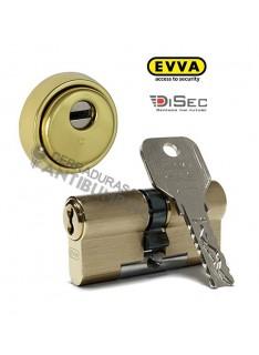 Kit Escudo Protector Disec BD280 Serie ROK + Bombín Antibumping EVVA 4KS PLUS Alta Seguridad