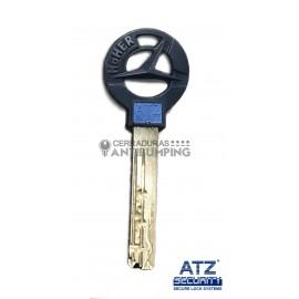 HÖHER de ATZ SECURITY - Bombín de Alta Seguridad Antibumping