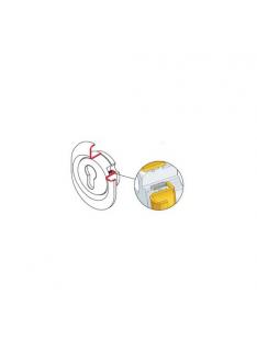 Escudo alta seguridad monolito para cilindros electrónicos e-primo DISEC