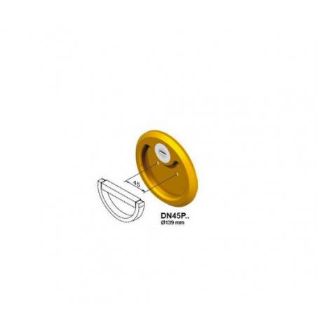 Escudo de alta seguridad DISEC para puertas basculantes DN45P