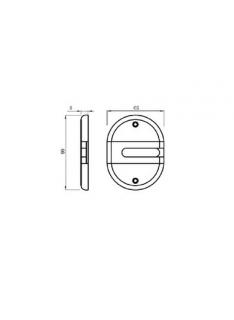 Escudo protector DISEC para cerraduras gorja