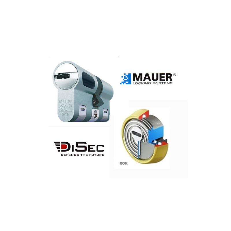 Kit Basico Bombin MAUER NW5 + Escudo DISEC BD280 (Serie ROK)