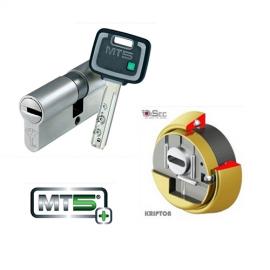 Kit Plus Escudo DISEC BKS280 (Serie Kripton) + Cilindro Antibumping MUL-T-LOCK MT5+ Reforzado (Perfil Europeo)