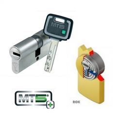 Kit Plus Escudo con Placa DISEC 280EZC ROK + Cilindro Antibumping MUL-T-LOCK MT5+ Reforzado