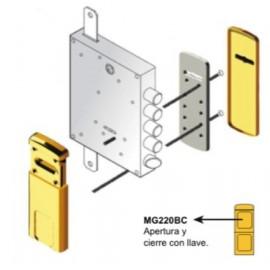 Escudo Protector Magnético DISEC MG220 3W Z para Cerradura de Borja