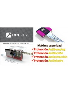 Bombín de seguridad INN.KEY SMART VdS BZ+ anti-bumping